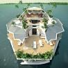 Insula plutitoare a lui Gabor Orsos costă 5 milioane de dolari