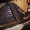Maistrul ciocolatier Leonidas a construit o piramidă aztecă