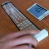 Tastatura flexibilă Qii se poate folosi pe orice suprafață