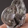 """""""Tsarevna Swan"""", inelul cu cele mai multe diamante"""