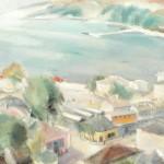 Francisc Sirato - Piaţa la Balcic