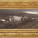 Nicolae Grigorescu - Care cu boi la asfinţit