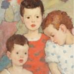 Nicolae Tonitza - Trei fraţi (Copiii pictorului)